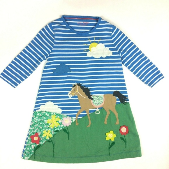 d982b833d Mini Boden Dresses   78 Y Horse Applique Knit Dress   Poshmark